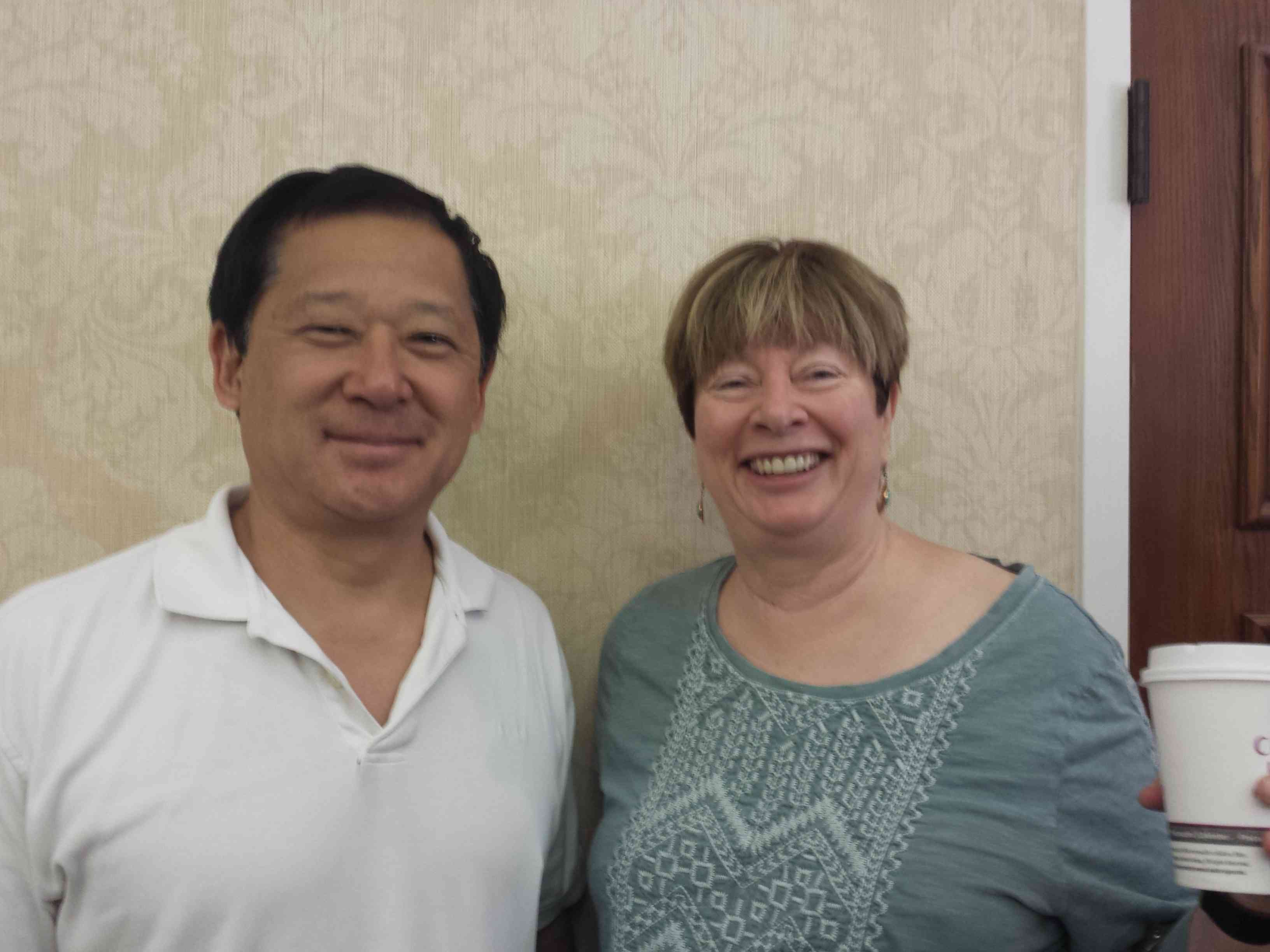 Sat. Swiss Mark Itabashi Newport Beach, CA and Linda Lewis Las Vegas, NV, (missing Douglas Doub, West Hartford, CT, Linda Lewis, Las Vegas, NV)