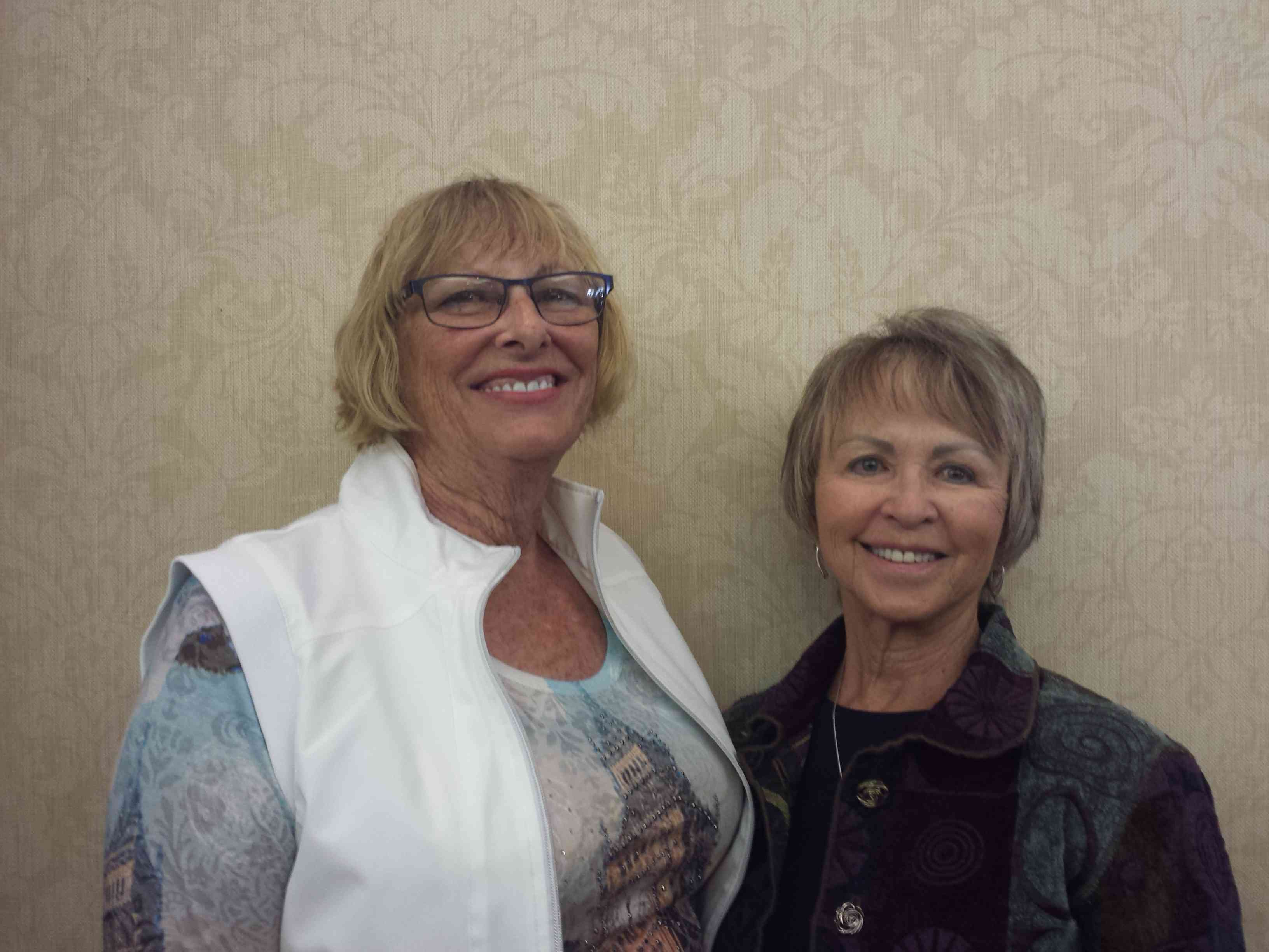 Tues AM and PM Gold Rush pairs (Overall) Susan Stewart and Sandra LaBute, SL, AZ