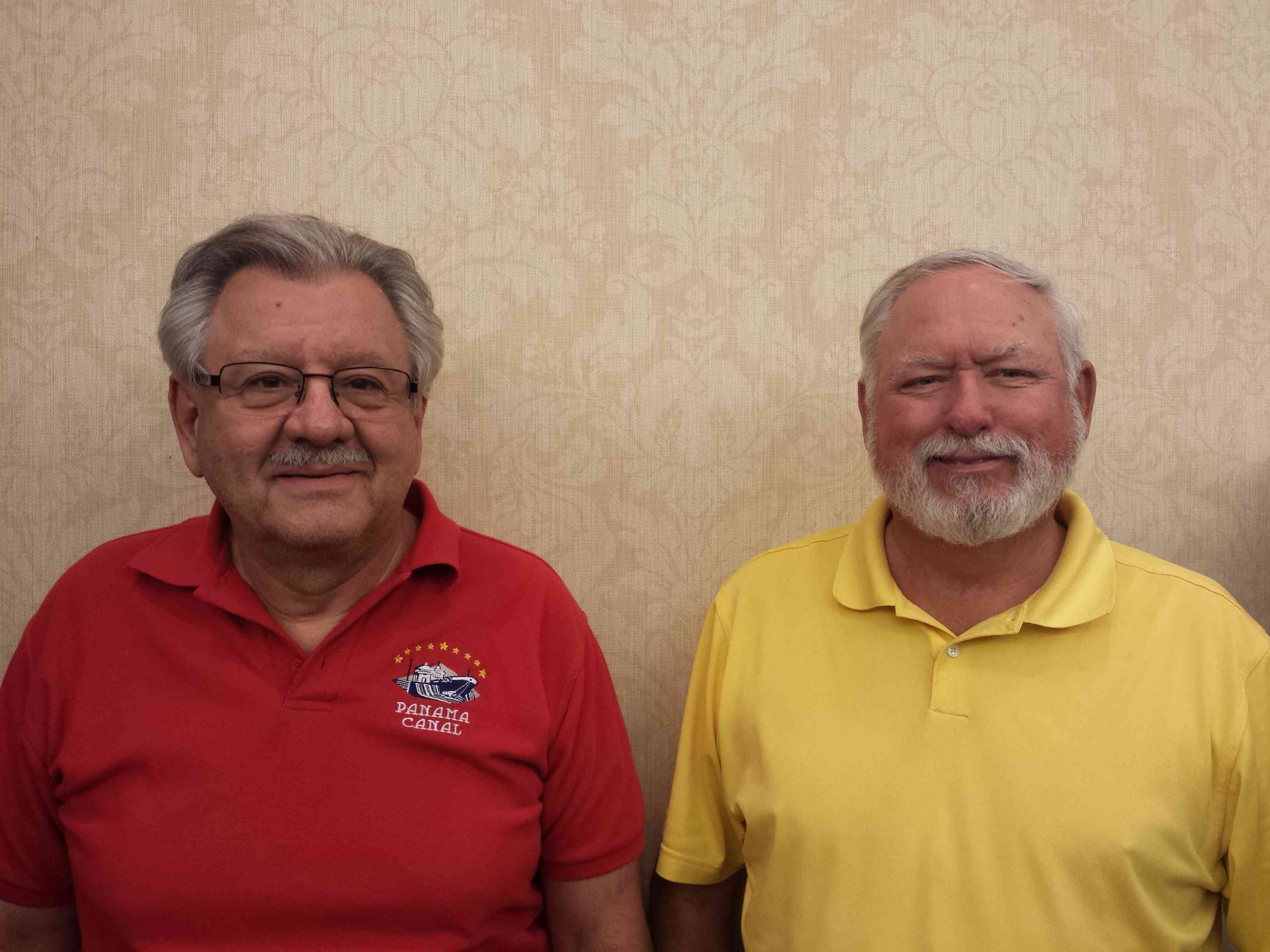Tues AM and PM open pairs, Vic Quiros and Jim Lenertz from In Tempo, AZ