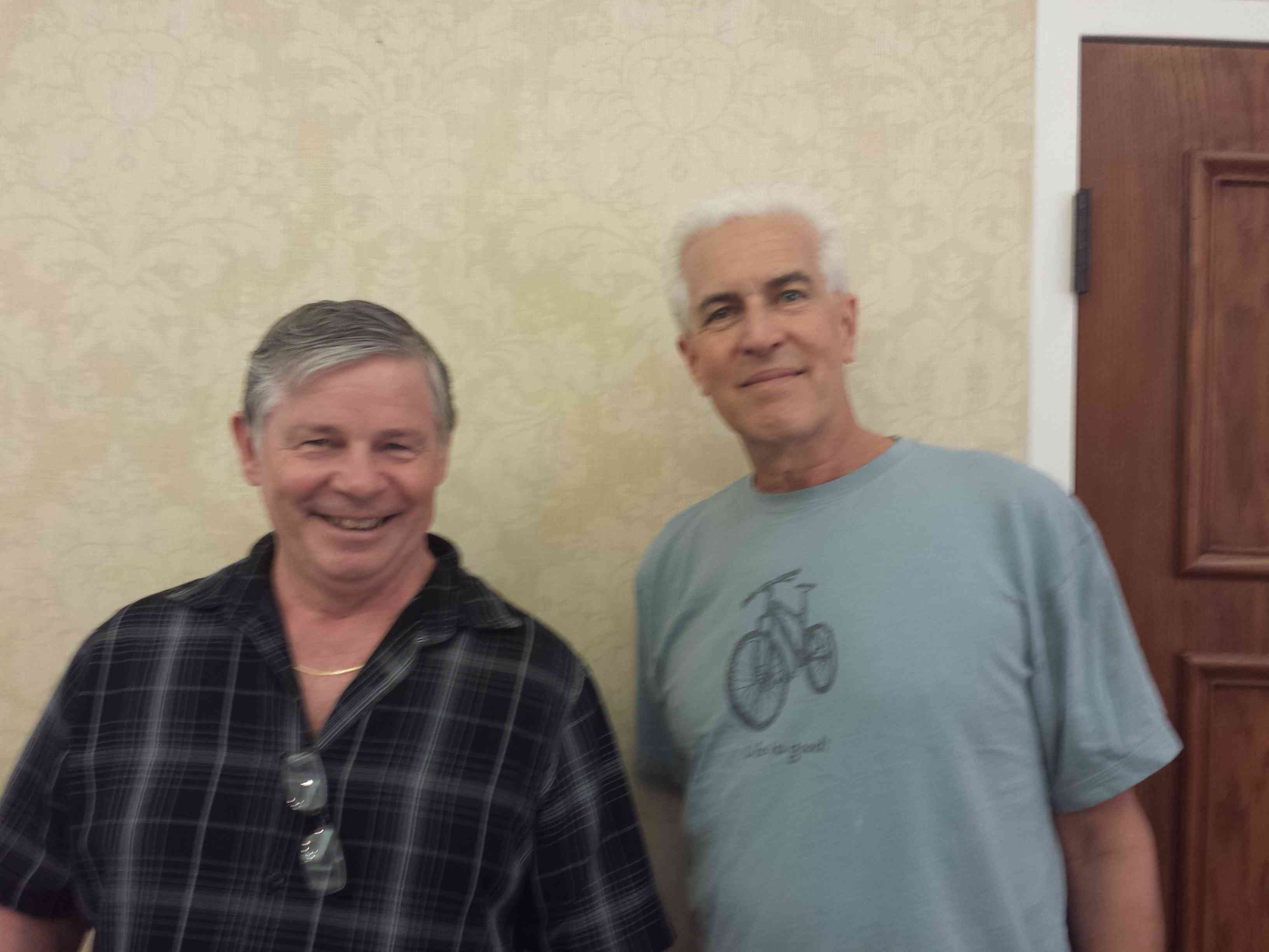 Wed PM Fast Pairs, Joel Datloff, Vancouver, WA and Roger McNay Beaverton,OR